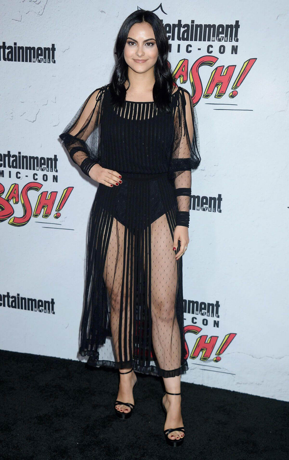 Camila Mendes Stills at Entertainment Weekly's Comic-con Party in San Diego