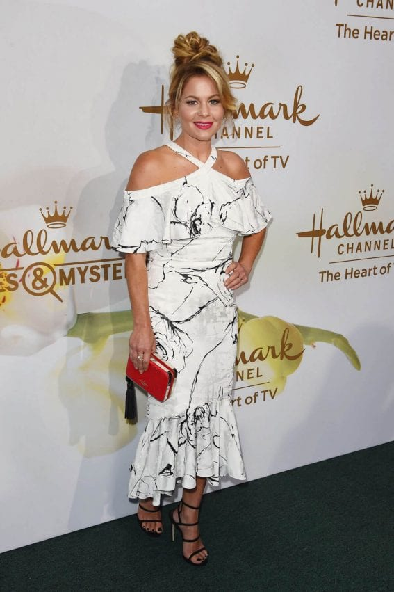 Candace Cameron-Bure Stills at Hallmark Event at TCA Summer Tour in Los Angeles