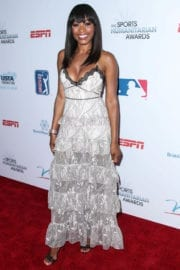 Cari Champion Stills at 3rd Annual Sports Humanitarian of the Year Awards in Los Angeles