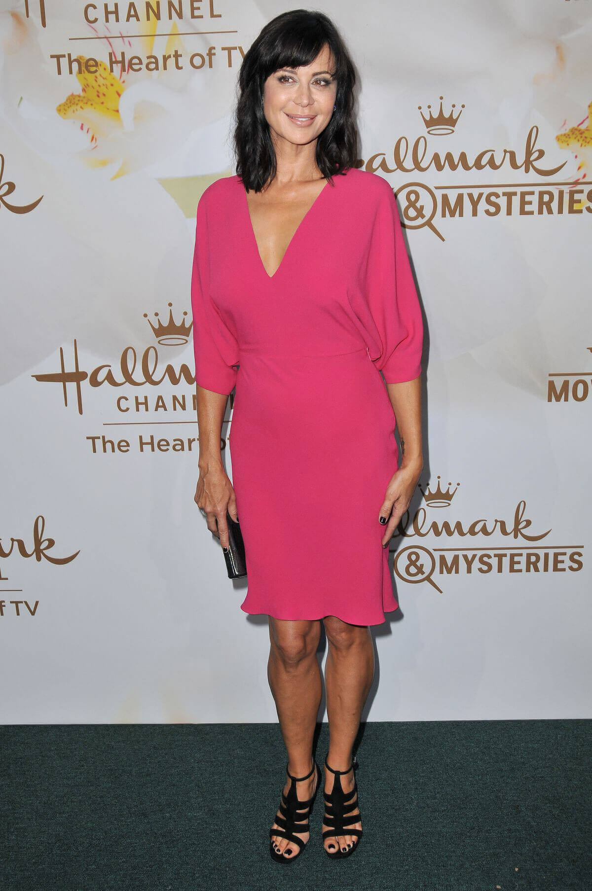 Catherine Bell Stills at Hallmark Event at TCA Summer Tour in Los Angeles