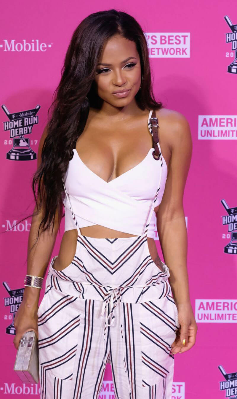 Christina Milian Stills at T-Mobile Presents Derby After Dark in Miami