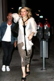 Courtney Love Stills at Catch LA in West Hollywood