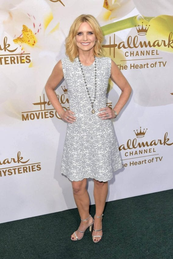 Courtney Thorne-Smith Stills at Hallmark Event at TCA Summer Tour in Los Angeles