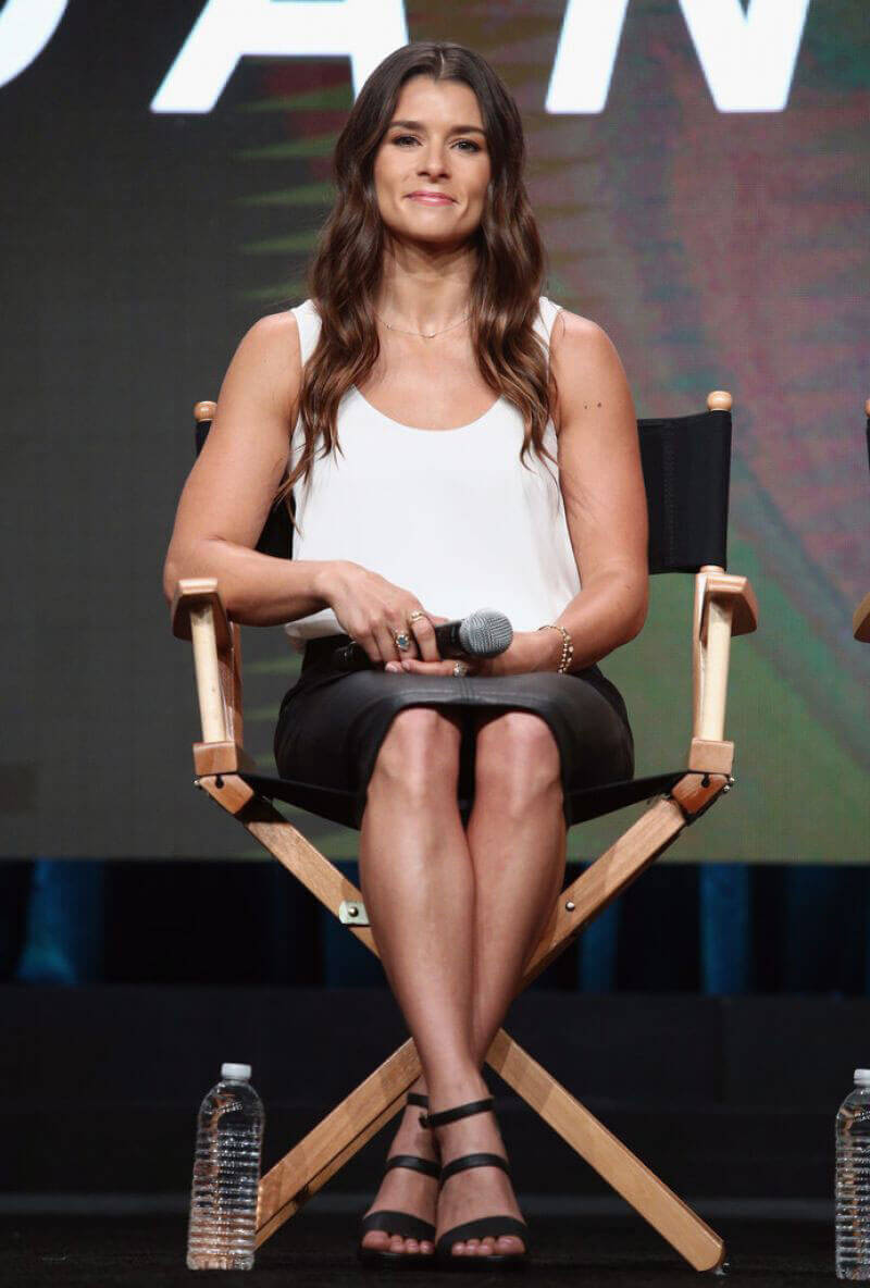 Danica Patrick Stills at 2017 Summer TCA Tour in Beverly Hills Images