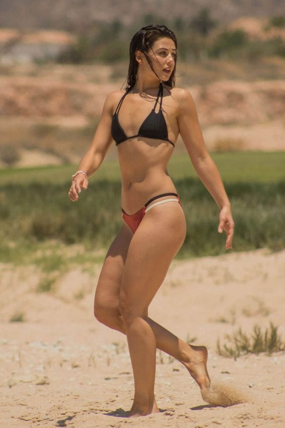 Danielle Campbell Stills in Bikinis on Vacation in Cabo San Lucas