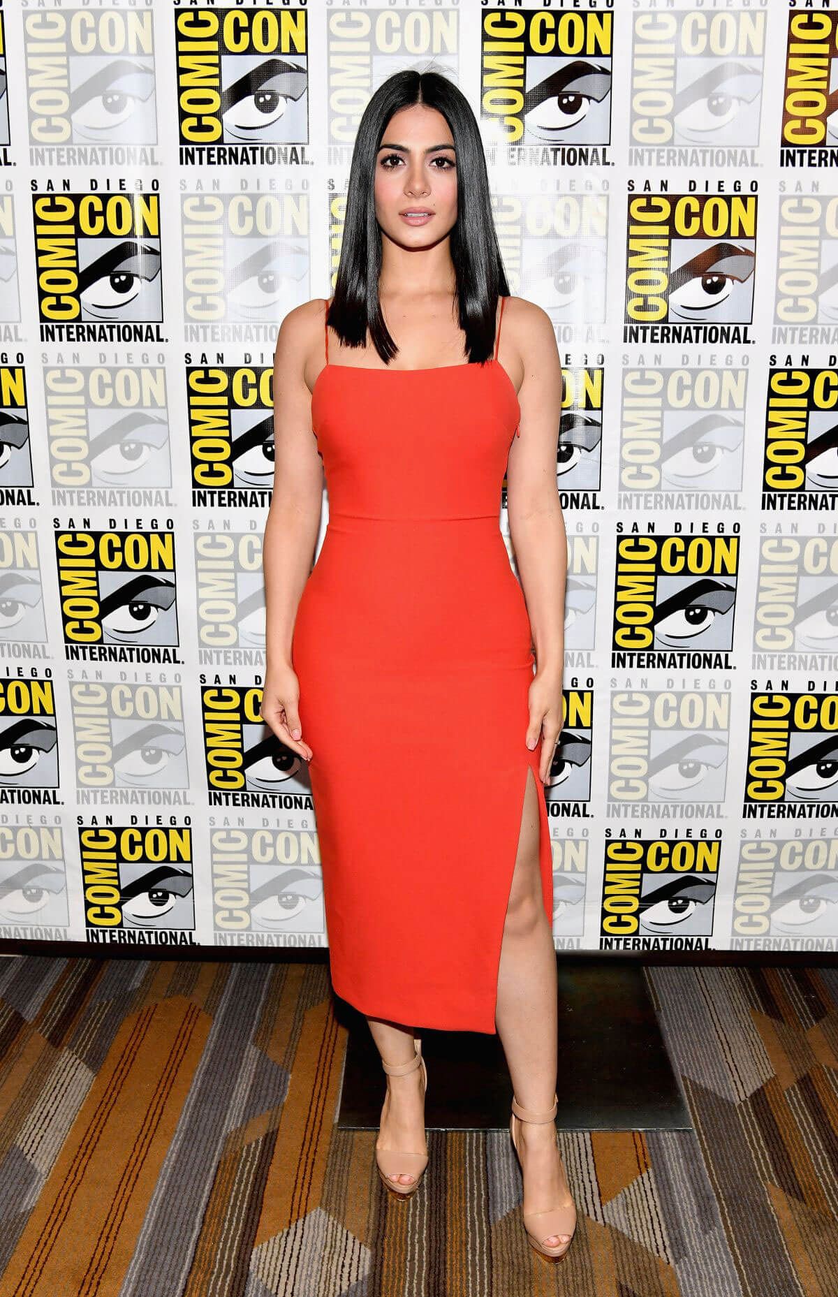 Emeraude Toubia at Shadowhunters Panel at Comic-con International 2017 in San Diego