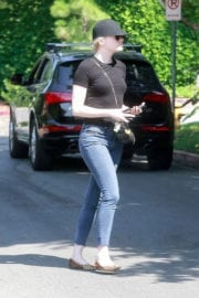 Emma Stone Stills Out and About in Los Angeles