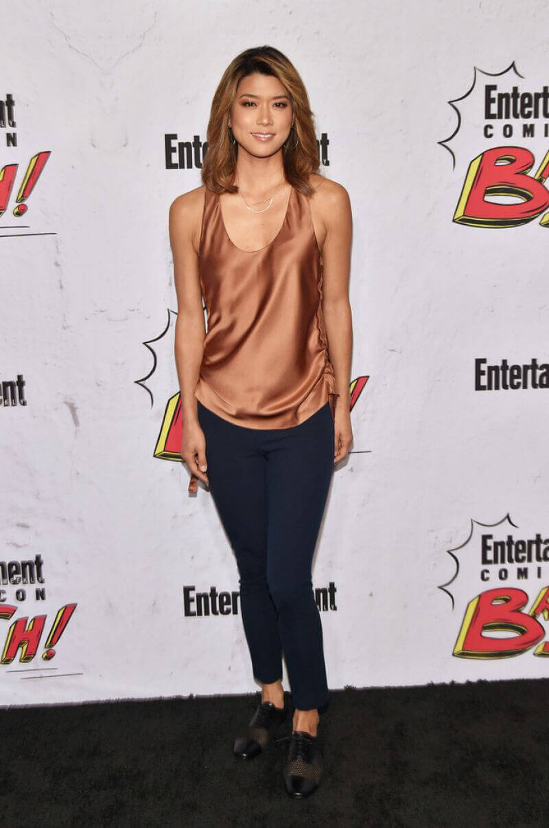 Grace Park Stills at Entertainment Weekly's Comic-con Party in San Diego