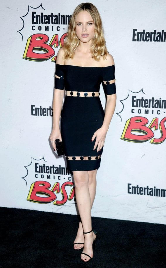 Halston Sage Stills at Entertainment Weekly's Comic-con Party in San Diego