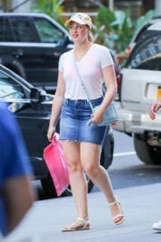 Iskra Lawrence Stills Out and About in New York