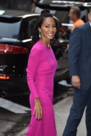 Jada Pinkett Smith at Good Morning America in New York Photos