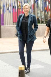 Jane Lynch Stills Out and About in New York