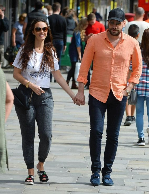 Jennifer Metcalfe Stills Out Shopping in Newcastle