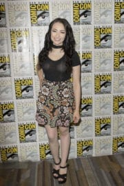 Jodelle Ferland Stills at Dark Matter Press Line at Comic-con in San Diego