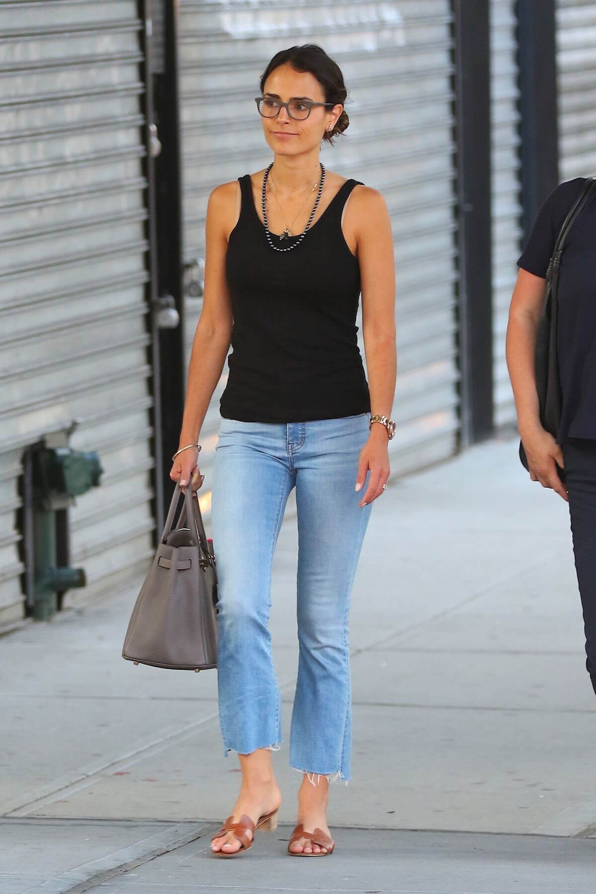 Jordana Brewster Stills Out and About in New York