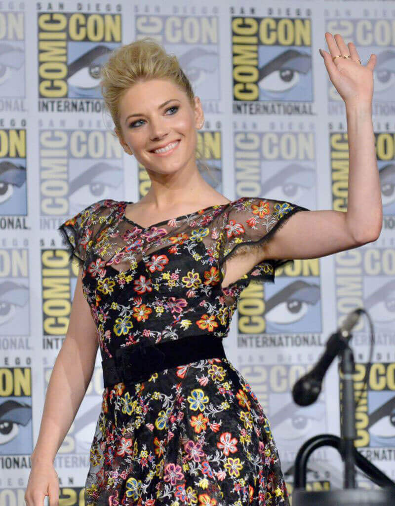 Katheryn Winnick Stills at Vikings Panel at Comic-con in San Diego