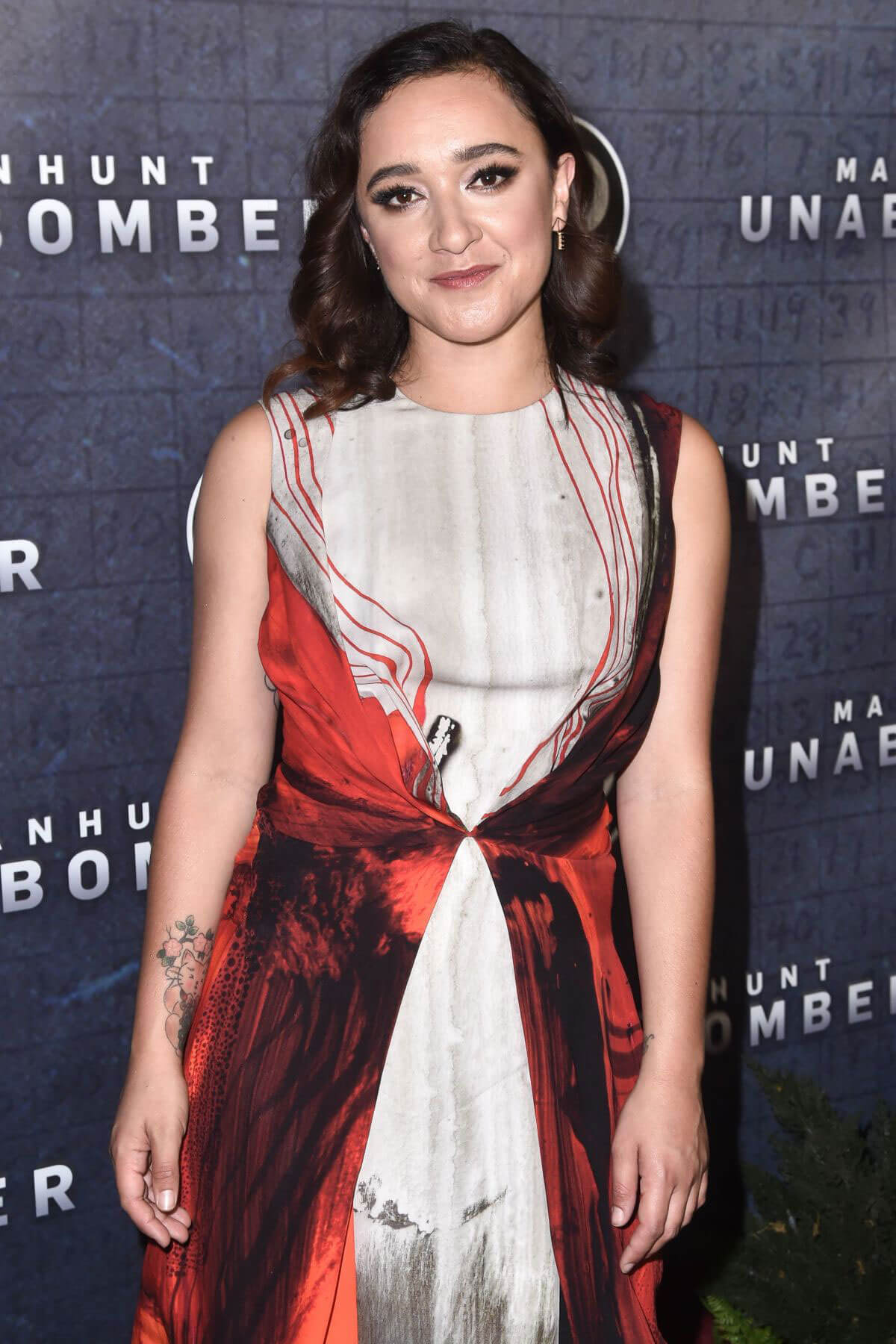 "Keisha Castle-Hughes Stills at ""Manhunt: Unabomber"" TV Show Premiere in New York"