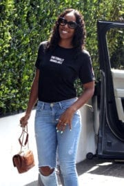 Kelly Rowland Out for Lunch at Cecconi's Photos