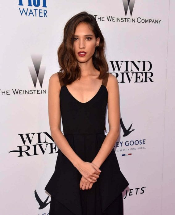 Kelsey Asbille Chow Stills at Wind River Premiere in Los Angeles