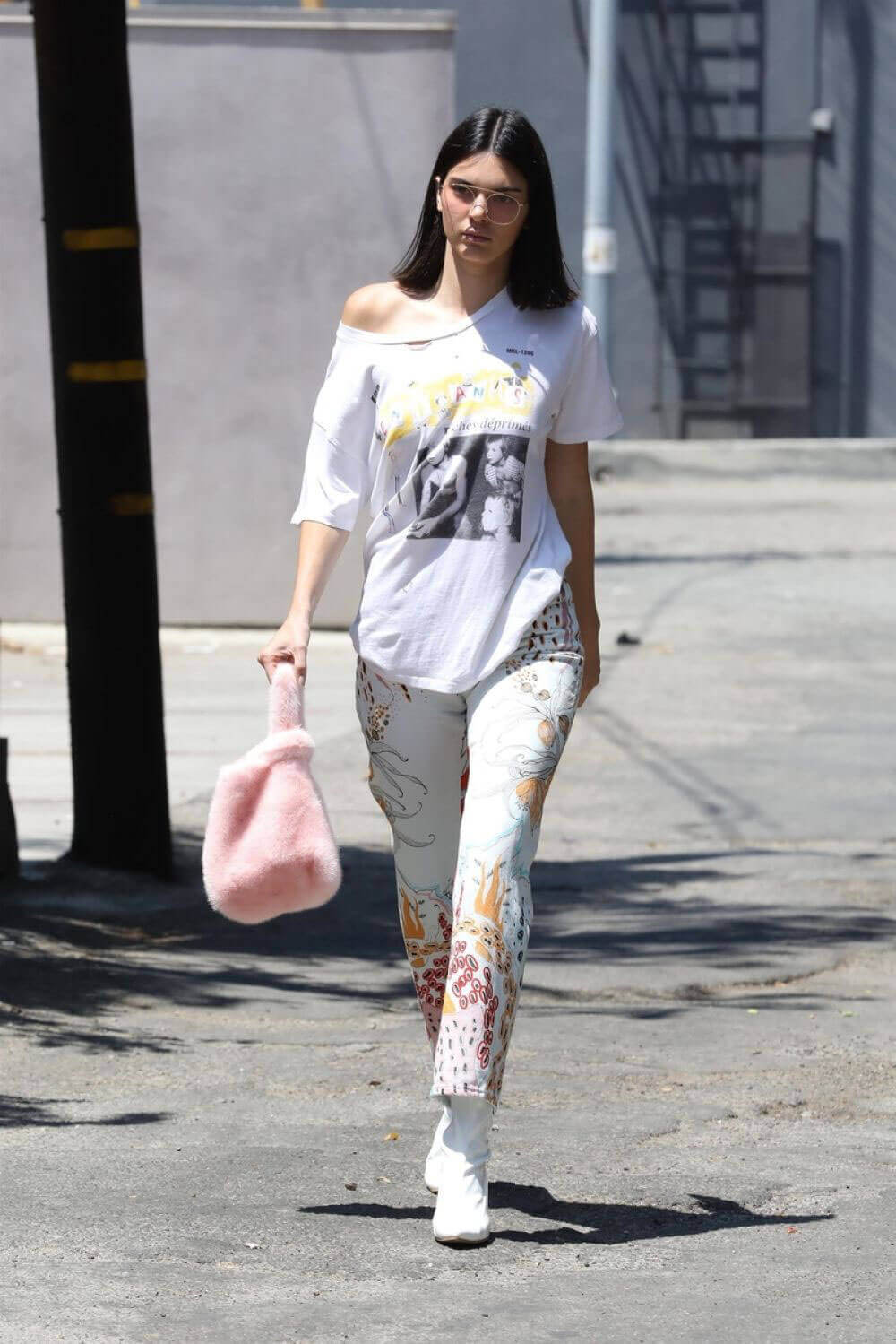 Kendall Jenner Out and About in West Hollywood Images - 07/22/2017