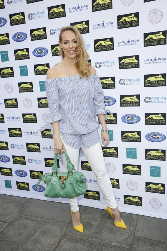 Liz McClarnon Stills at Paul Strank Charitable Trust Summer Party in London
