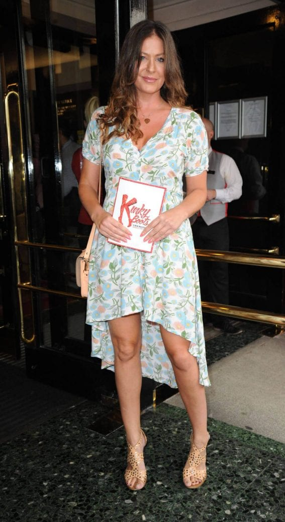 Lucy Horobin at Kinky Boots Musical Press Night in London