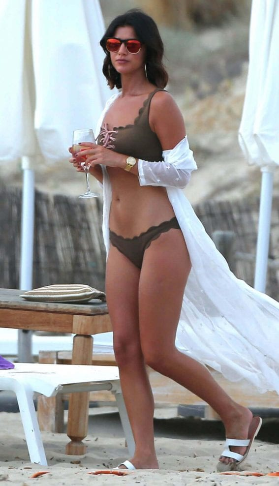 Lucy Mecklenburgh in Bikini on the Beach in Ibiza Images - 07/21/2017