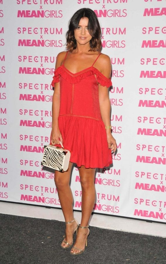 Lucy Mecklenburgh Stills at Spectrum and Mean Girls Burn Book Launch Party in London