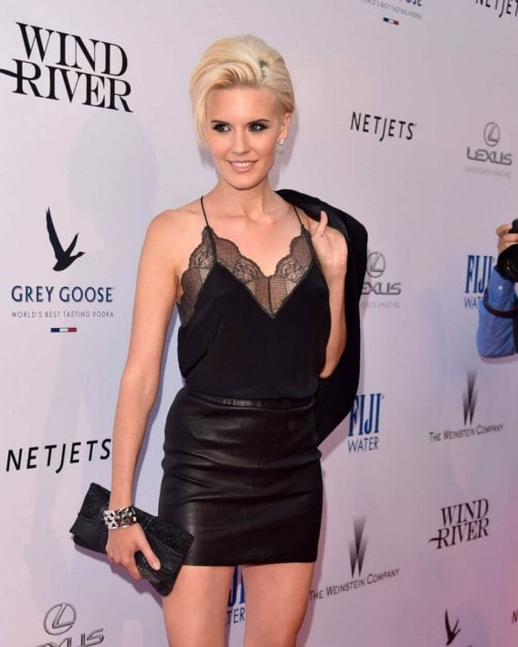 """Maggie Grace Stills at """"Wind River"""" Premiere in Los Angeles"""
