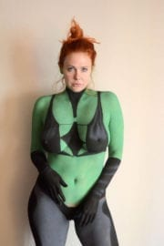 Maitland Ward in Cosplay for Comic-con in San Diego Photos