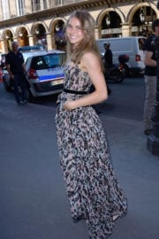 Margo Hayes Stills at Christian Dior Show at Haute Couture Fashion Week in Paris