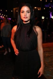 Marie Avgeropoulos at Entertainment Weekly's Comic-con Party in San Diego