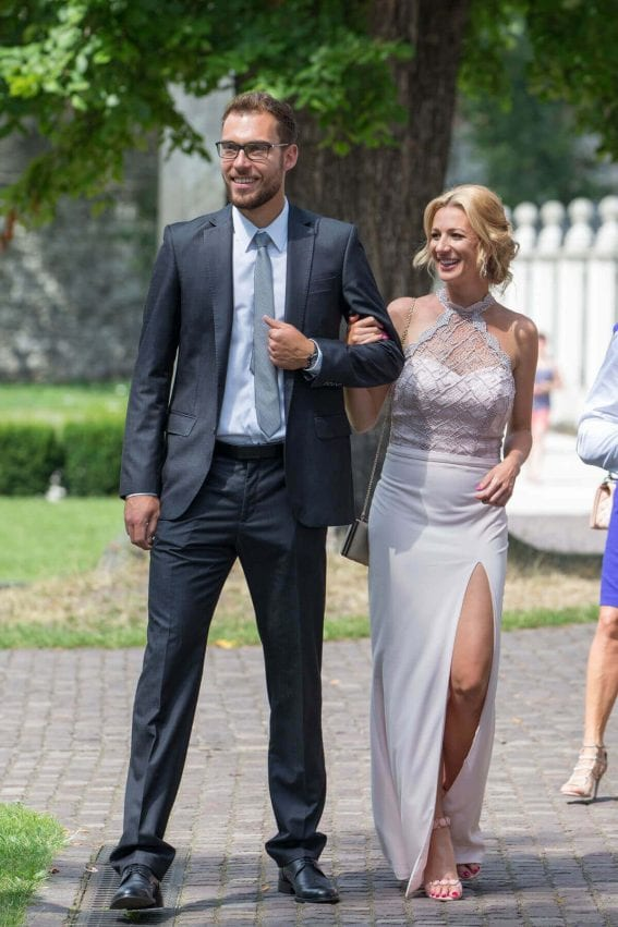 Marta Domachowska Stills at Agnieszka Radwanska Wedding in Cracow Images