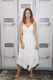 Minka Kelly at AOL Build Series in New York Images