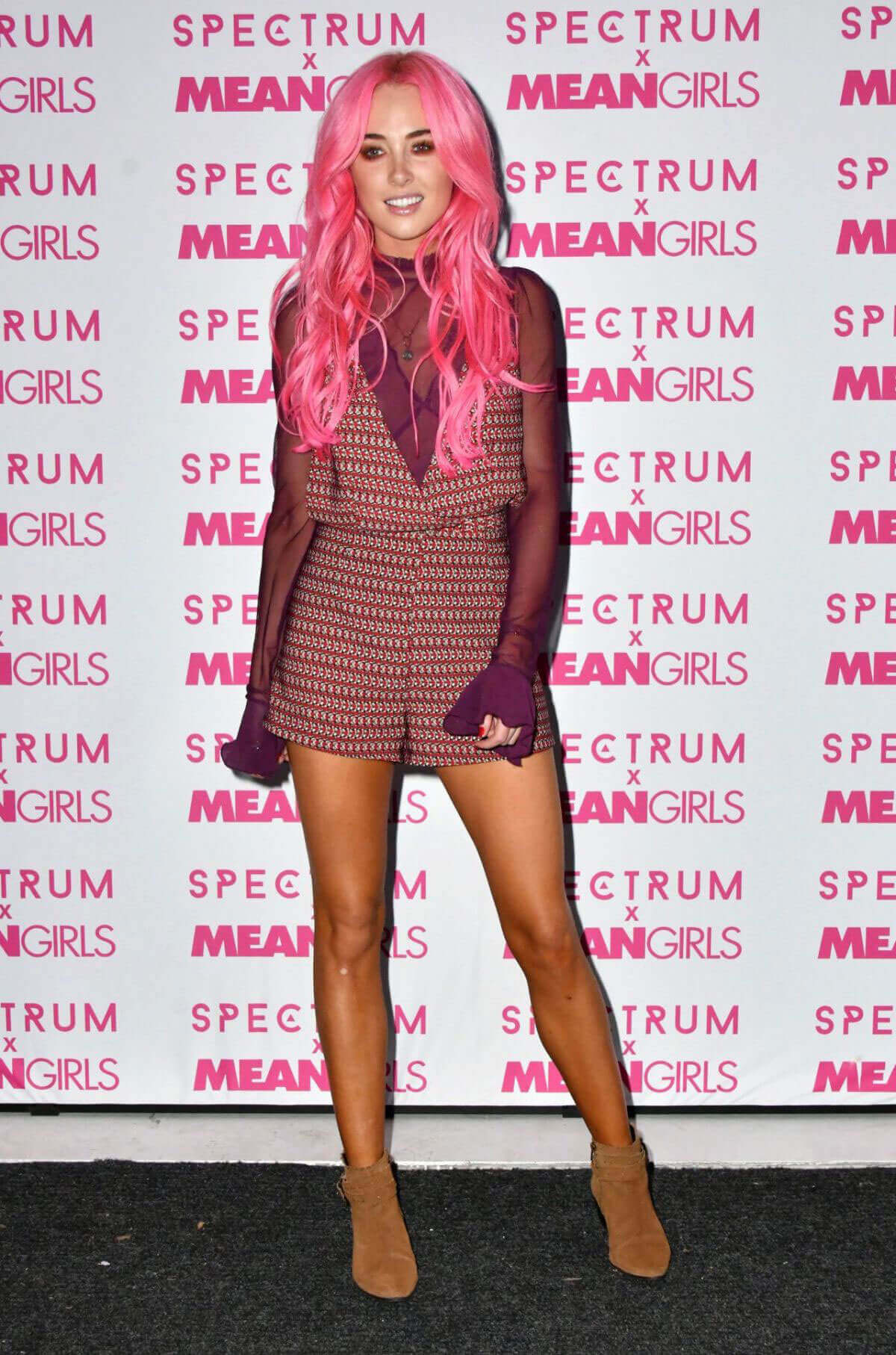 Nicola Hughes Stills at Spectrum and Mean Girls Burn Book Launch Party in London