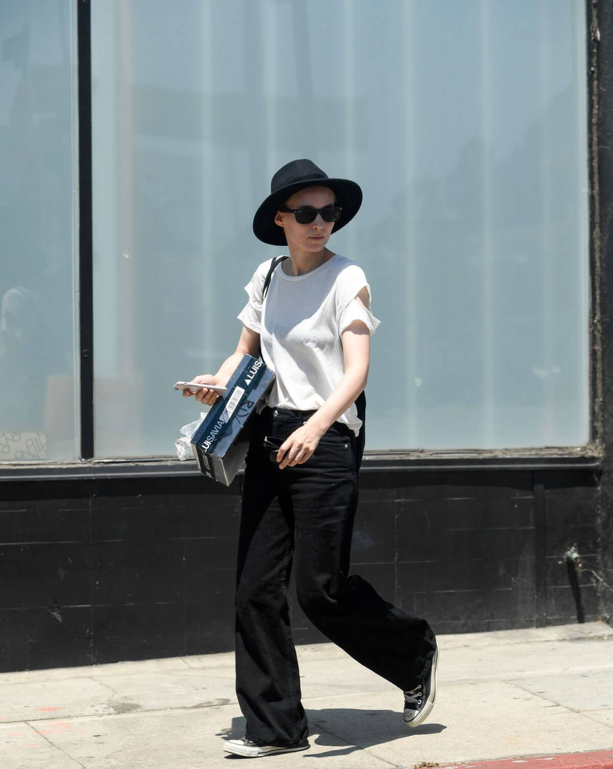Rooney Mara Stills Out in Los Angeles