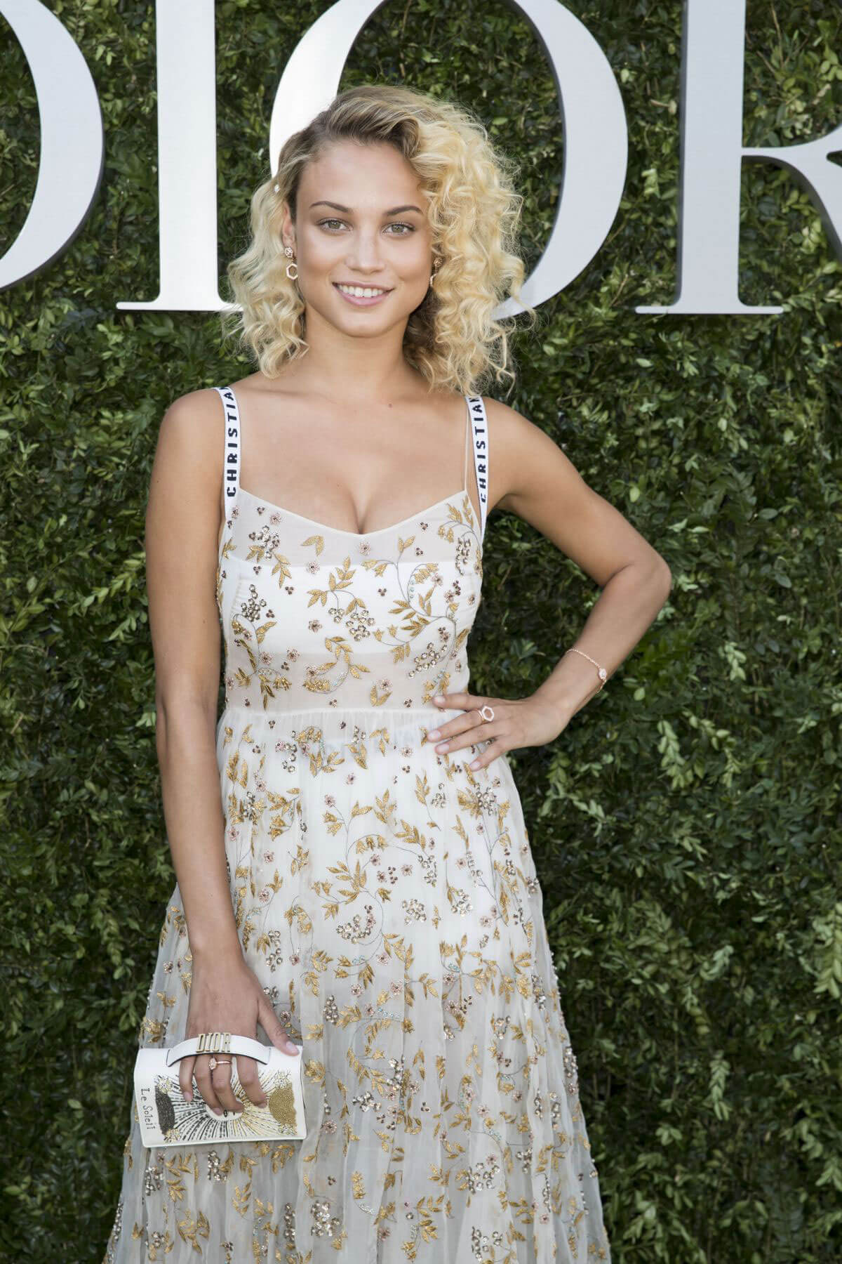 Rose Bertram Stills at Christian Dior Fashion Show Photocall in Paris