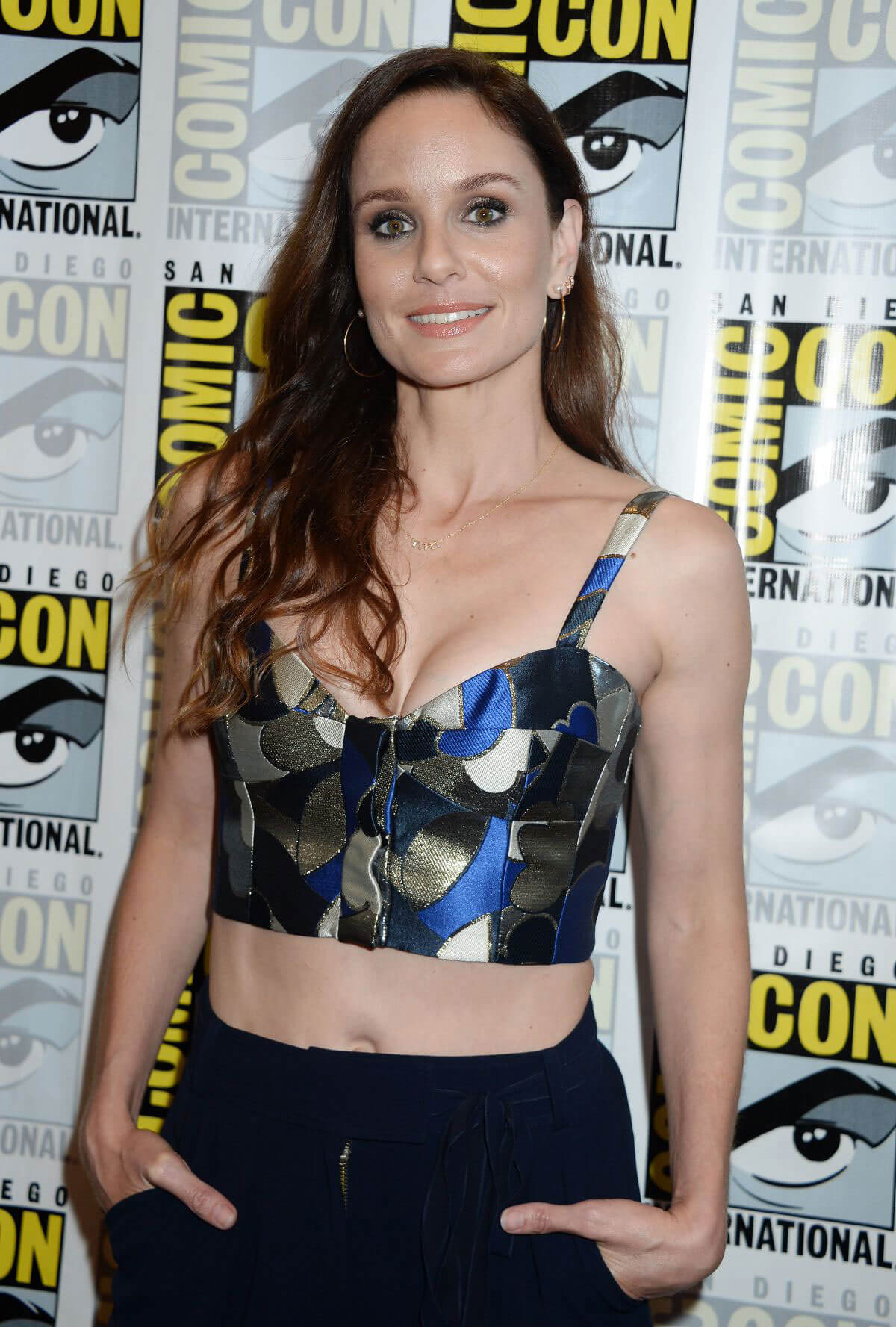 Sarah Wayne Callies at Colony Panel at Comic-con International in San Diego