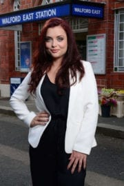 Shona McGarty Photoshoot for Eastenders 2017 Images