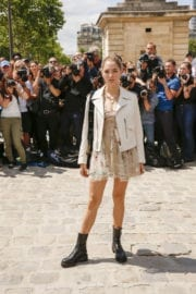 Sofia Sanchez Stills at Christian Dior Show at Haute Couture Fashion Week in Paris
