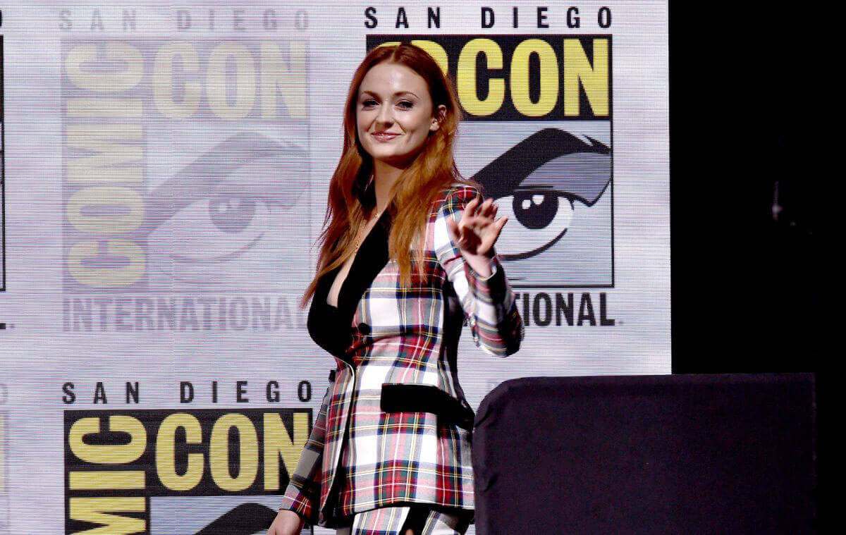 Sophie Turner Photos at Comic-con in San Diego