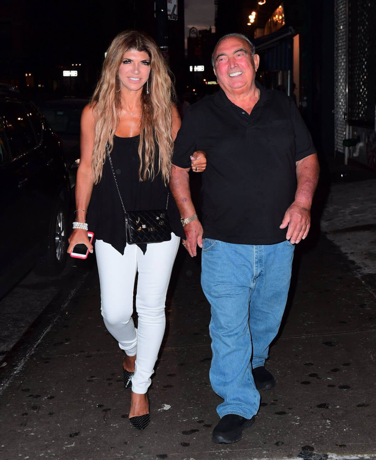 Teresa Giudice Stills Night Out in New York