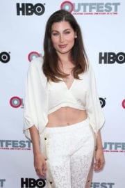 Trace Lysette Stills at Transparent Season 4 Screening at 2017 Outfest Los Angeles LGBT Film Festival