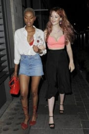 Victoria Clay and Jennifer Malengele Stills at Cookoo Club in London