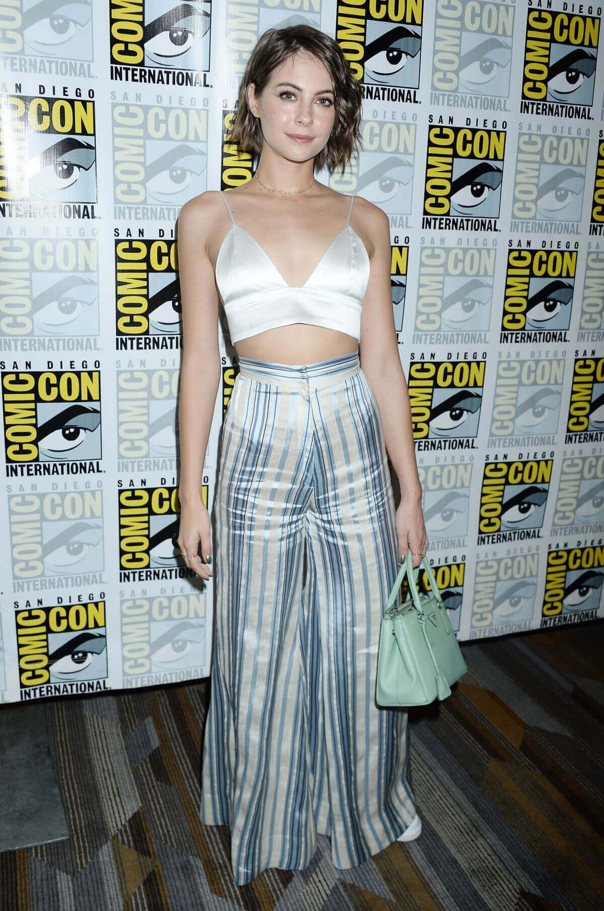 Willa Holland Stills at Arrow Press Line at Comic-con in San Diego