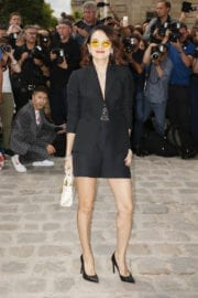 Zhang Ziyi Stills at Christian Dior Show at Haute Couture Fashion Week in Paris