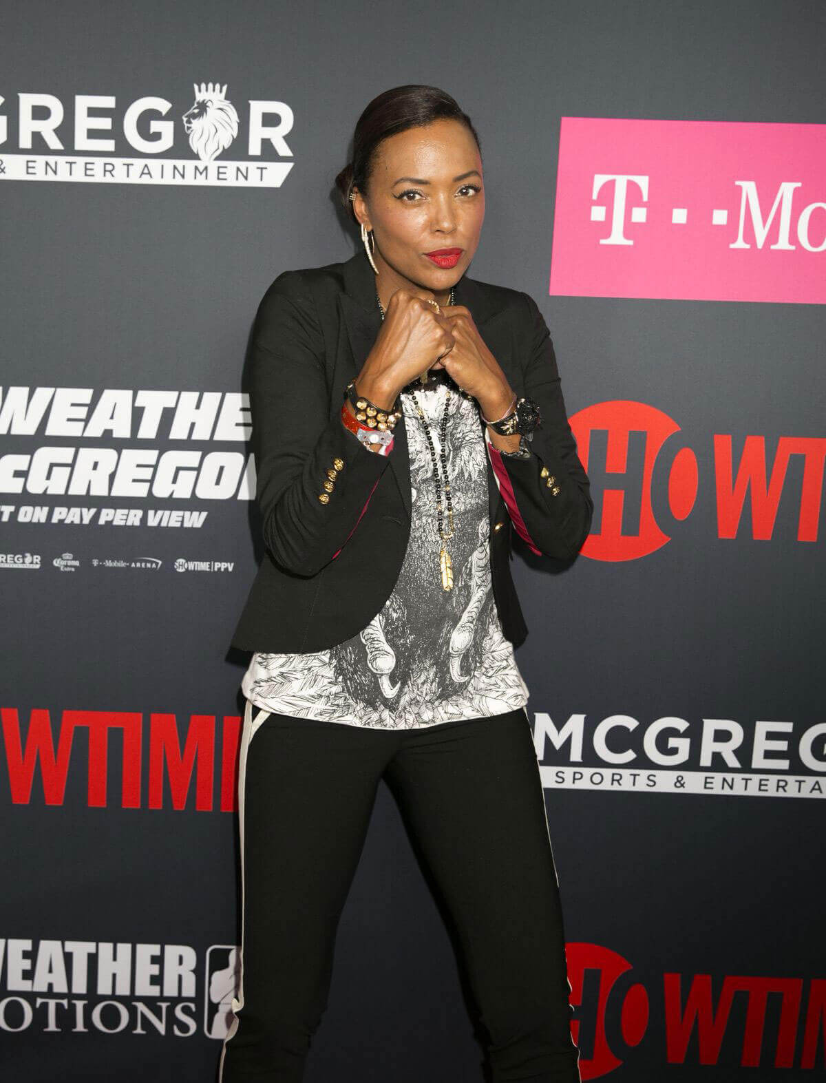 Aisha Tyler Stills at Mayweather vs McGregor Pre-fight VIP Party in Las Vegas