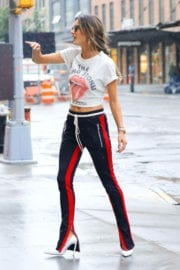 Alessandra Ambrosio Stills Out and About in New York Images