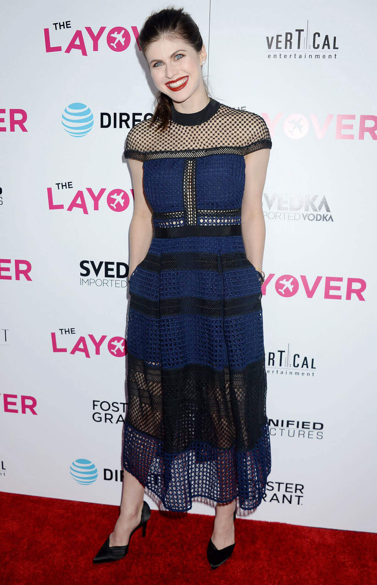 Alexandra Daddario Stills at The Layover Premiere in Los Angeles