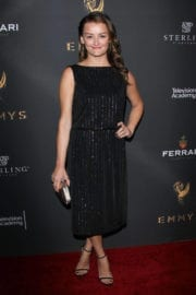 Alison Wright Stills at Emmys Cocktail Reception in Los Angeles